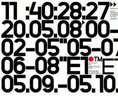 Neubau / NB Grotesk / Typeface / 2008