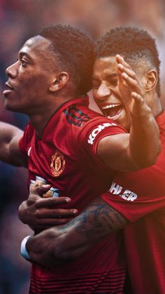 World Soccer News Manchester United Wallpaper, Manchester United Players, Jesse Lingard, Anthony Martial, Barcelona Futbol Club, Marcus Rashford, Sir Alex Ferguson, Good Soccer Players, Soccer News