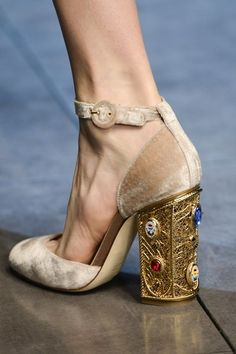 Dolce and Gabbana shoes AW13