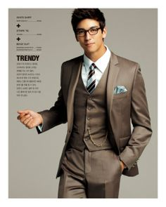 love this color!! Id like joe and groomsman to wear a gray/brown vest