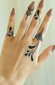 18 Beautiful Henna Tattoos for Women - The Trend Spotter Mehndi Tattoo, Henna Tattoo Designs, Henna Tattoos, Henna Thigh Tattoo, Henna Finger Tattoo, Henna Ankle, Henna Designs Feet, Henna Tattoo Kit, Simple Henna Tattoo
