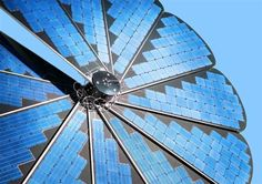 Smartflower is a groundbreaking solar panel whose petals rotate to track the sun like some flowers Small Solar Panels, Best Solar Panels, Solar Panel System, Panel Systems, Solar Energy, Solar Power, Free Video Background, Photovoltaic Cells, Sustainable Energy