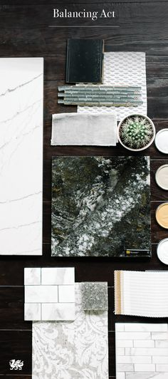 Enhance our Ellesmere™ design in the kitchen or bath by pairing with Ella™ and Minera™, striking a balance between natural textures and luminous shades of gunmetal and pear.