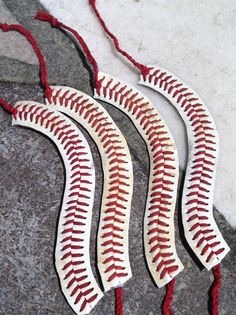 CUTE Baseball Bracelet made from REAL BASEBALL by krystleskrafts, $10.00 NEW ITEM in shop!!!!