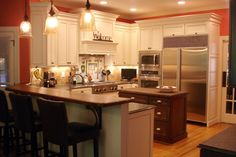 """Welcome"" says it all from Essence Design Studios #Kitchen @Kitchen & Bath Channel"