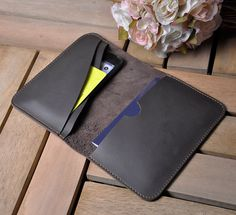 Leather PASSPORT WALLET Passport cover Leather by iLeatherStore, $28.00