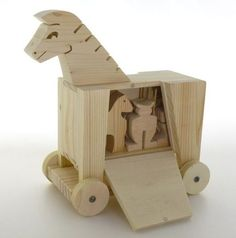 The coolest Trojan horse I have ever seen