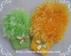 Yeni Sakallı İple Kese Bebek Lifleri knit washcloth YAPILIŞI BURADA:http://www.marifetane.com/2013/02/yeni-sakall-iple-kese-bebek-lifleri.html
