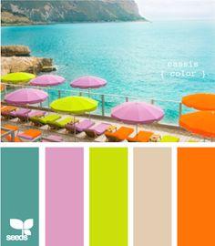 """couleurs inspirante pour un """"quilt"""""""