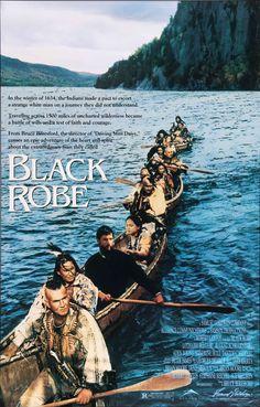 "Black Robe (1991) Vintage One-Sheet Movie Poster - 27"" x 41"""