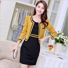 Best 12 44 Office Fashion for Women Simple Dresses, Casual Dresses, Nice Dresses, Modest Fashion, Fashion Dresses, Office Fashion Women, Womens Fashion, Dress Suits, Dress Tops