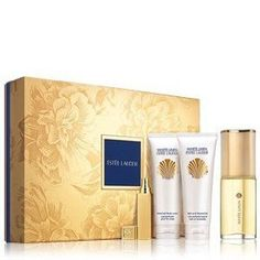 White Linen Gift Set By Estee Lauder 4 Pcs 3.0 Oz Edp .3.4 Oz Body Lotion, 3.4 Oz Shower Gel and .17 Oz Travel Spray by Estee Lauder. $115.00. Estee Lauder White Linen Timeless Destination. Give her the cool, refreshing fragrance that transcends the seasons.  Limited-time collection includes four fragranced favorites in an exclusive gift box:  Parfum Spray 3.0 oz. Perfumed Body Lotion 3.4 oz. Bath and Shower Gel 3.4 oz. Atomizer .17 oz.