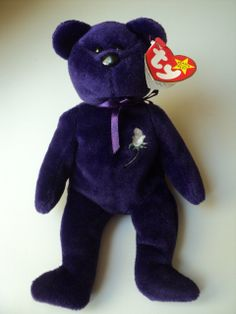 Princess the bear Diana Lady Di TY Beanie Baby COLLECTORS INVESTMENT OPPORTUNITY by TheNMSugarShack, $35,000.00