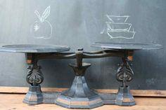 Antique Cast Iron Countertop Scale