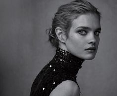 Natalia Vodianova by Peter Lindbergh, Dior