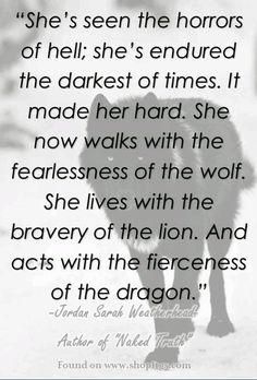 Im a wolf and im not afraid