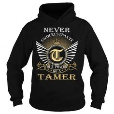Awesome Tee Never Underestimate The Power of a TAMER - Last Name, Surname T-Shirt Shirts & Tees