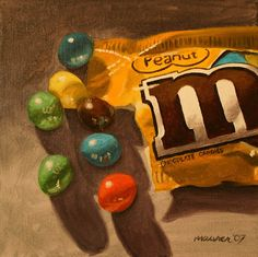 A Painting A Day: Miniature Masterpieces - Small original oil paintings by Darren Maurer: August 2007