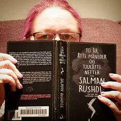 To år åtte måneder og 28 netter (som er 1001 natt)av Salman Rushdie #leseselfie #bøker  #oktobersjulekalender2017 #lesetips #leseglede #lesehest