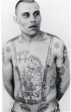 Soviet Prisoner Tattoos by Arkady Bronnikov - Album on Imgur