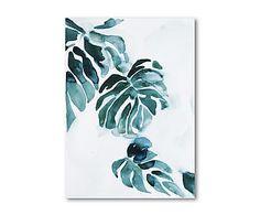 """Dekoracja ścienna """"Philodendron"""", 50 x 4 x 70 cm"""