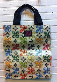 Fleurty Girl says these are the perfect bag and size for JazzFest stuff--- yeah, you right!!!