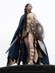 This Wonder Woman Group Cosplay Is Something Special – Fashionably Geek Wonder Woman Movie, Wonder Woman Cosplay, Amazing Cosplay, Best Cosplay, Amazons Wonder Woman, Group Cosplay, Bionic Woman, Queen Outfit, Wonder Women