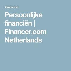 Persoonlijke financiën   Financer.com Netherlands