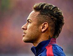 Neymar Frisur 2014 Blond Spieler Bild Idee