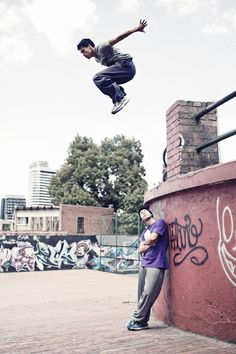 Parkour                            Urban Sports by Agustina Lallana, via Behance