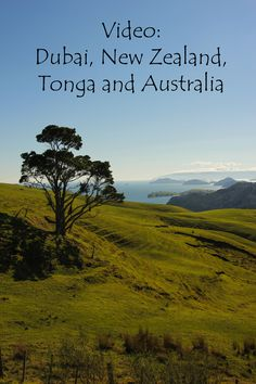 Check out my video from Dubai, New Zealand, Tonga and Australia http://aworldofbackpacking.com/video-trip-2014/