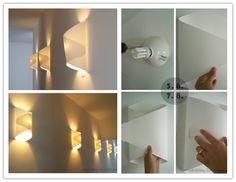 DIY : How to make cool paper lamp