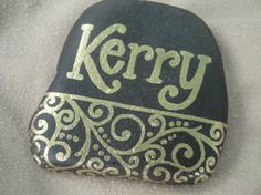 Personalized Paperweight Rock