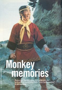 Monkey - brilliant, crazy tv series from the Chris and Des's childhood hero. 1980s Childhood, My Childhood Memories, Monkey Tv Series, Journey To The West, Monkey King, Kids Tv, Old Tv Shows, Vintage Tv, My Youth