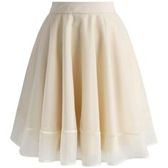 Chicwish Turely Tulle A-line Skirt in Apricot ($47) ❤ liked on Polyvore featuring skirts, beige, see through skirt, layered skirt, beige tulle skirt, tulle skirt and pink layered skirt