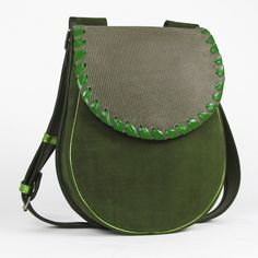 LEATHER SHOULDER BAG WOMEN BASIA FLO via Vintage Leather Bags. Click on the image to see more!
