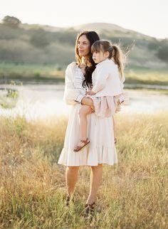 Jose Villa Photography. Soft pastels, beautiful Family, childrens photo shoot