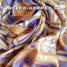 """The Hermes Paris bid for World Peace in store now!! http://forever-hermes.com #ForeverHermes in extremely elegant lavender purple is titled """"Donner La Main"""" roughly translated  as """"Holding the Hands"""" designed by the Armenian beloved creator of """"Jardins d'Armenie """" Karen Petrossian depicts people from every country in the world holding the hands in friendship and #peace wearing adorable traditional garments in an ideal world. Wear it and spread the good feelings! #Hermes #HermesCarre…"""
