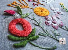 só em Janeiro acabei os projetos da Ana de Setembro e Outubro, para o Embroidery club.Já tinha tantas saudades de bordar que o projeto do mês de Outubro ficou um bordado mais contemporâneo que tra…