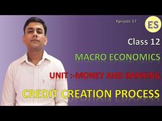Credit creation by commercial bank | Money creation | Macro economics | ... Teaching Economics, Money Creation, Fiat Money, Commercial Bank, Financial Literacy, Centre, Coaching, The Unit