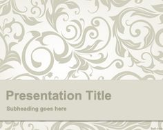 Curious PowerPoint Template is an unusual PowerPoint template that you can use to decorate your presentations in PowerPoint