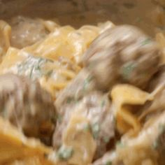 You're just in the kitchen, doing your thing… and just like that you produced heaven: | Here's A Quick And Easy Swedish Meatball Pasta Dinner That You Can Make For Your Loved Ones