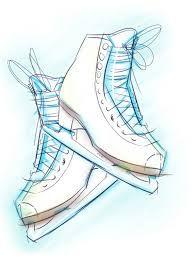 Skate sketch drawing