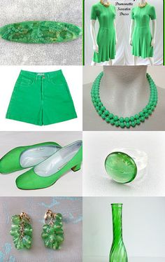Poison Green by Cherie on Etsy--Pinned with TreasuryPin.com