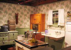 A home-canning operation, set in 1943, is re-created in this vignette.