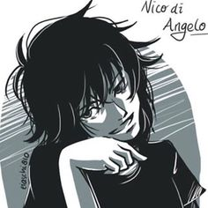 nico di angelo fan art - Google Search this is funny to me!