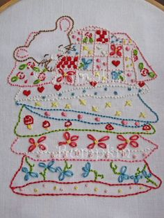 Sweet Dreams - Hand Embroidery PDF Pattern {etsy, Bumpkin ~ Follow the Country Lane to an enchanting world} 6.79 USD