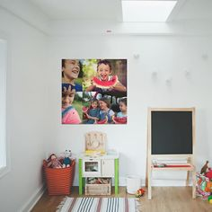 the perfect thing about SnapBox's Peel & Stick Fabric Posters is that they can grow up with your kids. Once your tired of one image, move it somewhere else and replace it with something more to your liking.