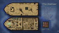 Kencyclopedia - Kender - Cartography - The Seabear