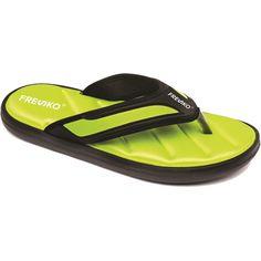 22fe2563a32b Men s Memory Foam Flip FlopsMen s Flip Flops sandals with comfortable  Memory Foam for relaxing your foot